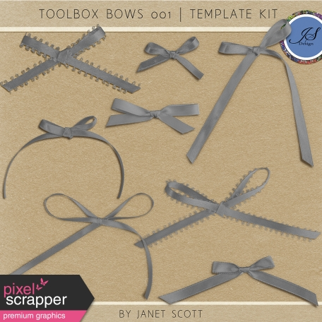 Toolbox Bows 001 - Template Kit