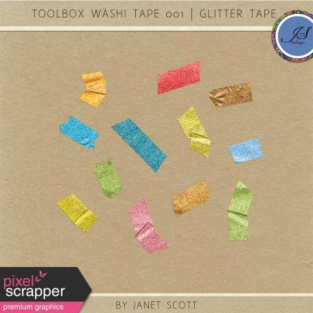 Toolbox Washi Tape 001 - Glitter Tape Kit