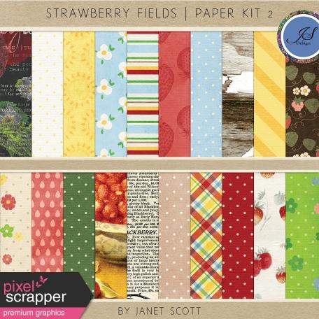 Strawberry Fields - Paper Kit 2