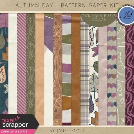 Autumn Day - Paper Kit