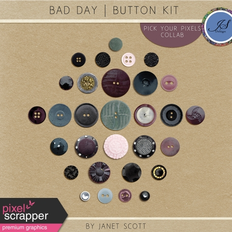 Bad Day - Button Kit