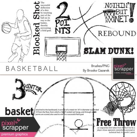 Basketball Brushes/PNGs Kit