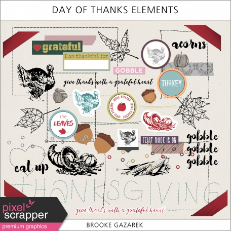 Day of Thanks Elements Kit