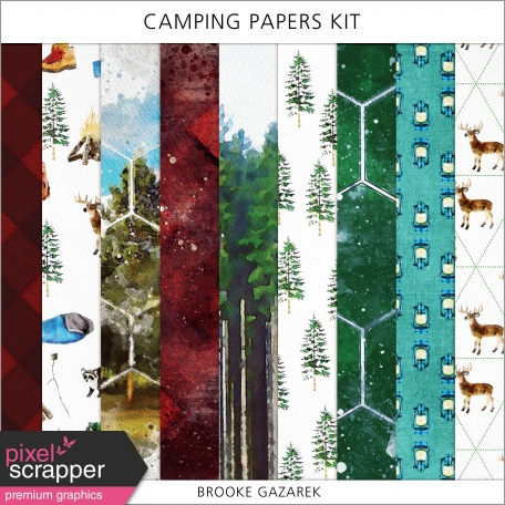 Camping Papers Kit