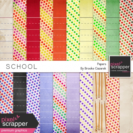 School Papers Kit