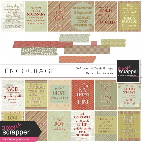 Encourage Cards and Tape Kit