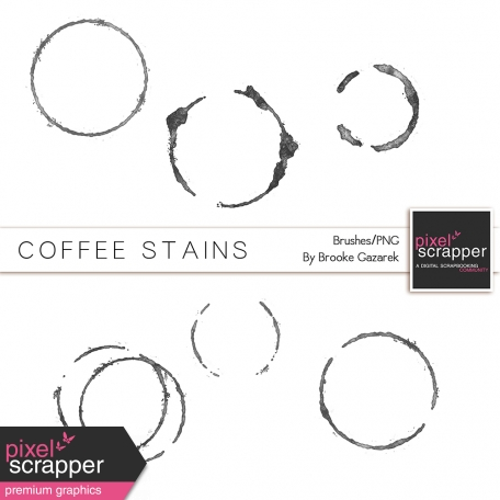 Coffee Stain Brushes Kit
