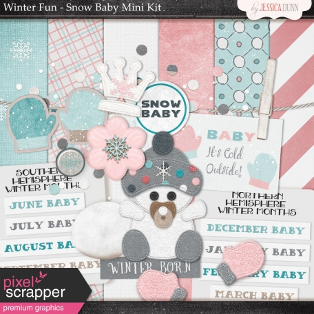 Winter Fun - Snow Baby Mini Kit