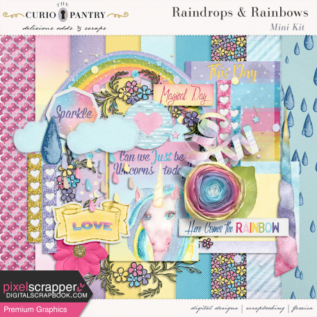 happy fantasy rainbow kit by jessica dunn