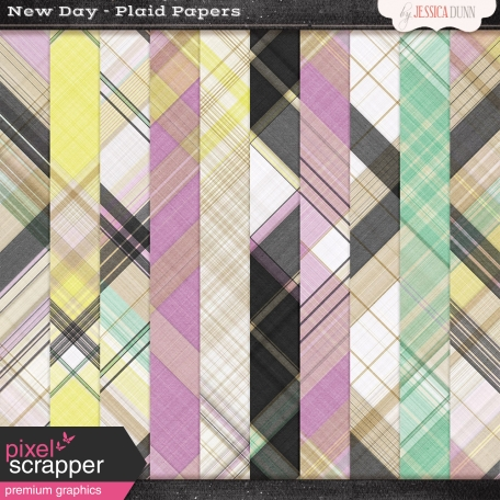 New Day Plaid Papers