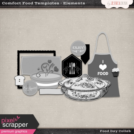 Comfort Food Templates - Elements