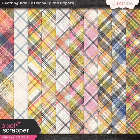 Heading Back 2 School - Plaid Papers