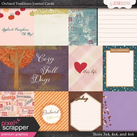 Orchard Traditions - Journal Cards