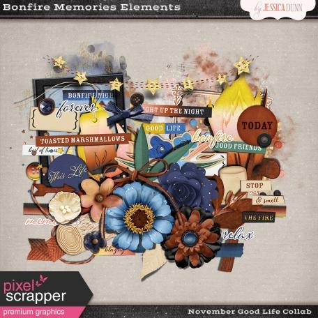Bonfire Memories Elements