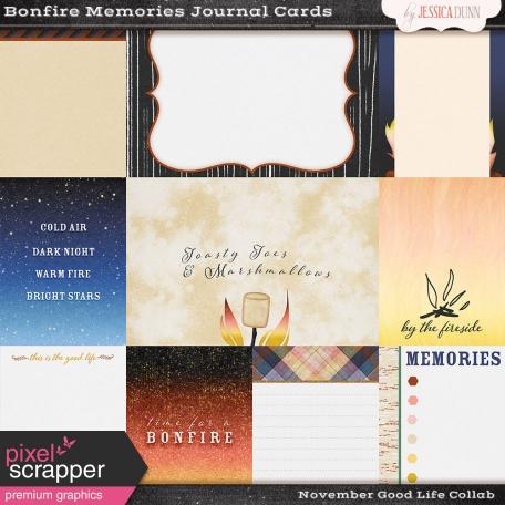 Bonfire Memories Journal Cards