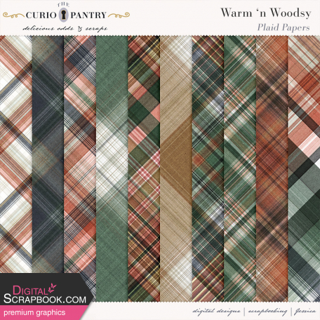 Warm n Woodsy Plaid Papers