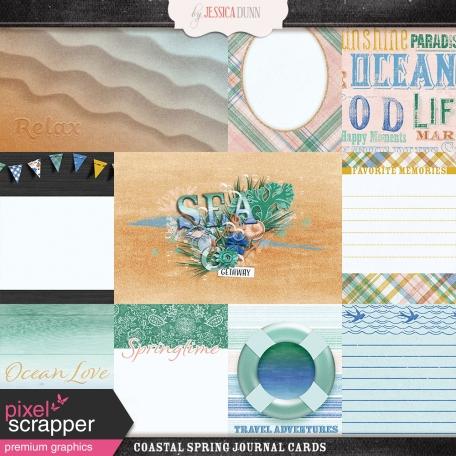 Coastal Spring Journal Cards