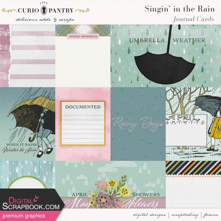 Singin' in the Rain Journal Cards