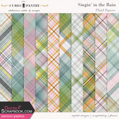Singin' in the Rain Plaid Papers