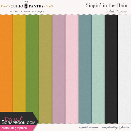 Singin' in the Rain Solid Papers