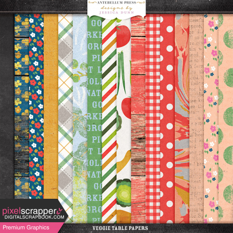 Veggie Table Papers