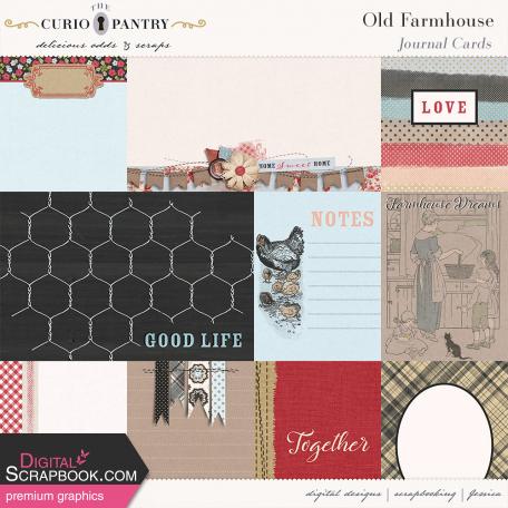 Old Farmhouse Journal Cards