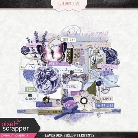 Lavender Fields Elements