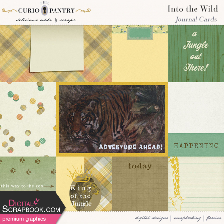 Into the Wild Journal Cards