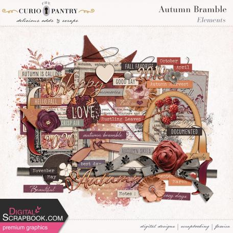 Autumn Bramble Elements