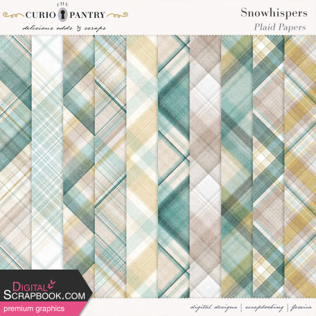Snowhispers Plaid Papers