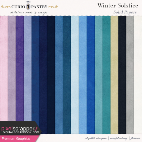 Winter Solstice Solid Papers