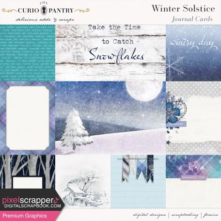 Winter Solstice Journal Cards