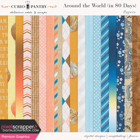 Around the World {In 80 Days} Papers