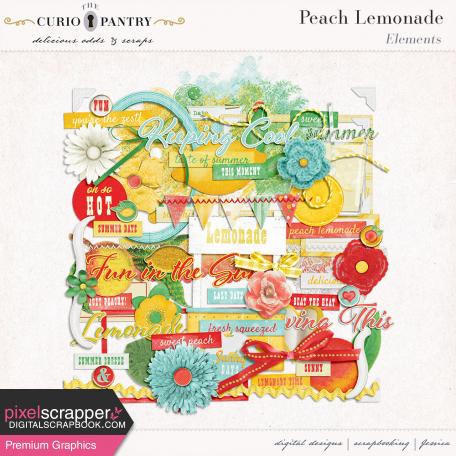 Peach Lemonade Elements