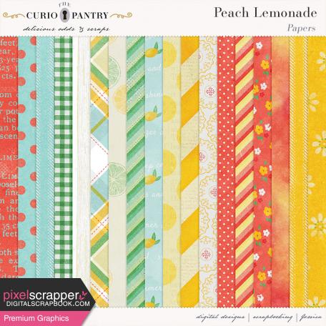 Peach Lemonade Papers