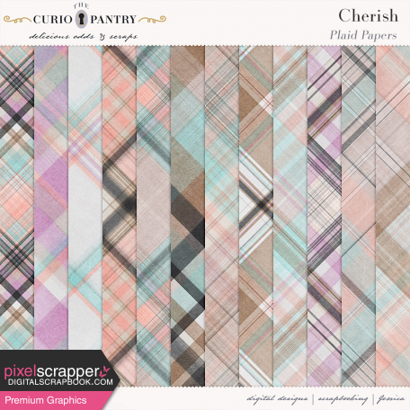 Cherish Plaid Papers