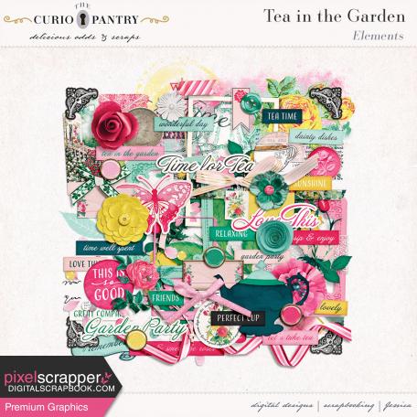 Tea in the Garden Elements