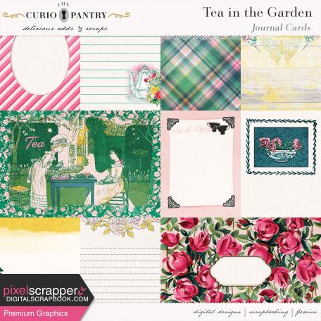 Tea in the Garden Journal Cards