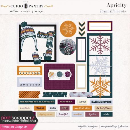 Apricity Print : Elements