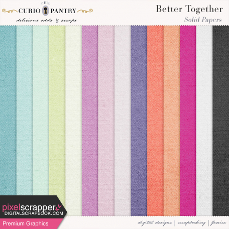 Better Together Solid Papers