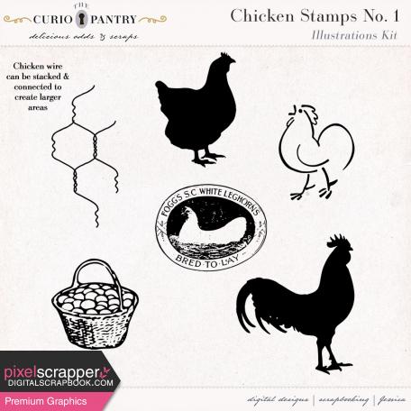 Chicken Stamps No. 1