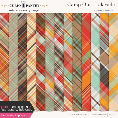Camp Out : Lakeside Plaid Papers