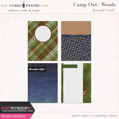 Camp Out : Woods Journal Cards