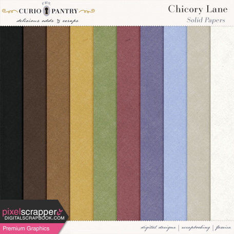 Chicory Lane Solid Papers