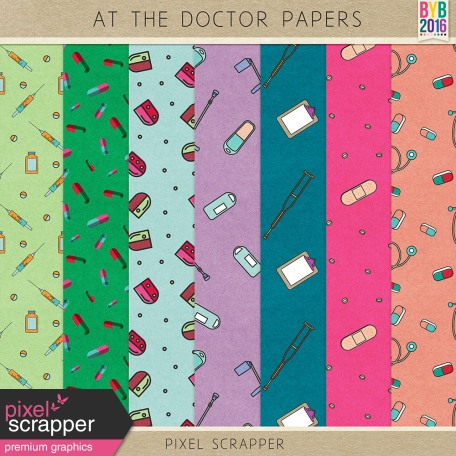 At the Doctor Papers Kit