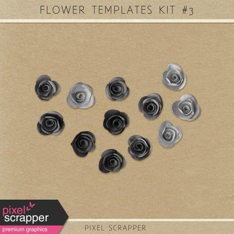 Flower Templates Kit #3