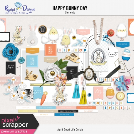 Happy Bunny Day | Elements Kit
