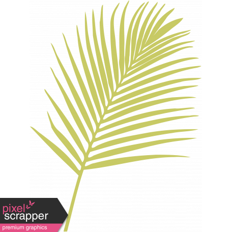Palm Branch Illustration - Template 01