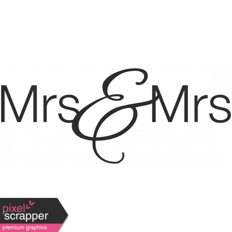 Wedding Words Mrs