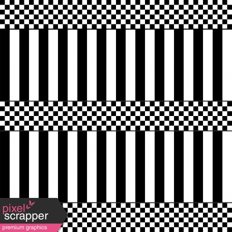 Paper 567 - Stripes & Gingham Template